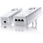 CPL Connecteur Réseau Gigabit Ethernet 10/100/1000 - RJ45 Femelle
