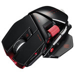Souris gamer Mad Catz Type de Roulette Bidirectionnelle