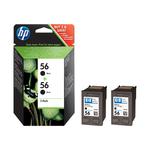 Cartouche imprimante HP 2 cartouches