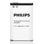 Dictaphone Philips Type d'alimentation Batterie Lithium-ion
