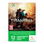 Accessoires Xbox 360 Microsoft Type périphérique de jeux Carte prépayée / abonnement