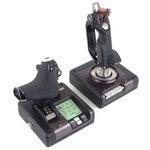 Joystick Saitek Dispositif de pointage Manette de gaz