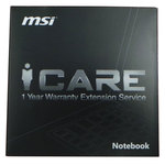 Garanties PC portable MSI Service compris Main d'oeuvre