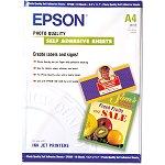 Epson C13S041106 - Papier couché qualité photo adhésif (10 feuilles)