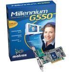 Matrox Millennium G550 32 Mo DDR DualHead (version boîte)
