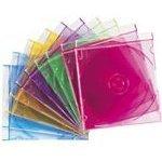 Imation Boîtier CD Slim Neon (pack de 25)
