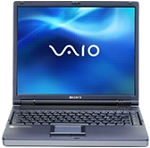 "Sony VAIO FR295MP - Celeron 2.0 GHz 256 Mo 40 Go 15"" TFT DVD/CD-RW WXPP"