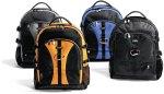 Dicota BacPac Jump - Sac à dos sport noir/bleu pour ordinateur portable