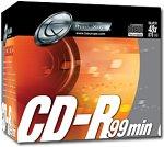Tx Traxdata CD-R 99mn (pack de 10, boîte crystal)