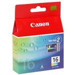 Canon BCI-16 - Cartouche Couleur (pour SELPHY DS700)