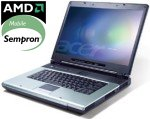 "Acer Aspire 1363WLMi_60 - AMD Sempron 3000+ 512 Mo 60 Go 15.4"" TFT DVD(+/-)RW Wi-Fi G WXPH"