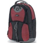 Dicota BacPac Mission - Sac à dos pour ordinateur portable (jusqu'à 16.4'') - (coloris rouge)