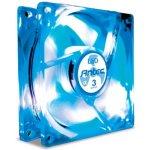 Ventilateur de boitier 80 mm à 3 vitesses avec LED bleue
