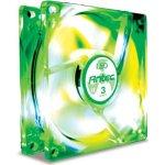 Antec TriCool 120mm Green LED - Ventilateur de boitier à 3 vitesses avec lumière verte