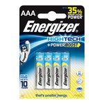 Pack de 4 piles alcalines AAA (LR03) à hautes performances