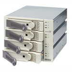 Promise SuperSwap 4100B - Rack interne pour 4 disques durs Serial ATA