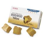 Xerox 108R00671 - 3 bâtonnets Encre solide Jaune (3000 pages à 5%)