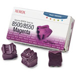 Xerox 108R00670 - 3 bâtonnets Encre solide Magenta (3000 pages à 5%)