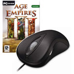 Microsoft Laser Mouse 6000 + Age of Empires III (PC)