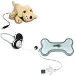 "Webcam Sweety-Cam ""Chien"" + Textorm Sweety Hub + Casque micro"