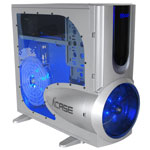 A+ Case Twin Engine SM - Argent (sans alimentation)
