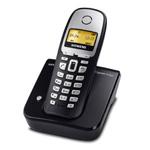 Siemens Gigaset A160 - Téléphone sans fil DECT (coloris noir) (Version Francaise)