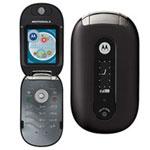 Motorola PEBL U6 (coloris noir) - Téléphone + Câble Data (USB)
