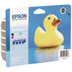 Epson T0556 MultiPack - Cartouche d'encre noire / cyan / magenta / jaune