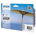 Epson T0445 MultiPack - Cartouche d'encre noire / cyan / magenta / jaune