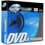 Tx DVD+R 4.7 Go Certifié 8x Imprimable (pack de 5, spindle)