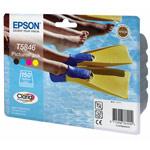 Epson PicturePack T58 - Cartouche d'encre 4 couleurs + Kit papier 150 feuilles