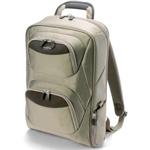 Dicota BacPac Business - Sac à dos ultra léger beige pour ordinateurs portables jusqu'à 15.4 pouces
