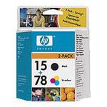 HP SA310AE (Noire et 3 couleurs) - Pack de 2