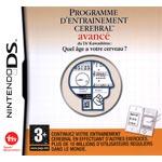 Programme d'Entraînement Cérébral Avancé Du Dr. Kawashima : Quel Age A Votre Cerveau (Nintendo DS)