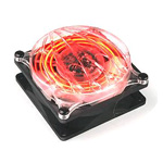Thermaltake Cyclo 80 mm - Ventilateur 80 mm avec LED rouge