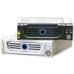 ICY BOX IB-138SK-B-II - Rack + tiroir pour disque dur Serial ATA (noir)