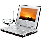 Zicplay DV9819 DVBT - Lecteur DVD Portable Compatible MPEG4 Tuner TNT