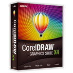 Corel CorelDRAW Graphics Suite X4 - Version complète (français, WINDOWS)