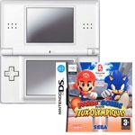 """Nintendo DS Lite Argent + Jeu """"Mario & Sonic aux Jeux Olympiques"""""""