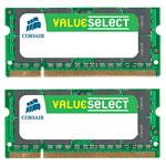 Kit Dual Channel RAM SO-DIMM DDR2 PC5300 - VS4GSDSKIT667D2 (garantie 10 ans par Corsair)
