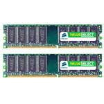 Kit Dual Channel RAM DDR2 PC5300 - VS4GBKIT667D2 (garantie 10 ans par Corsair)