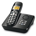 Siemens Gigaset AC265 - Téléphone sans fil DECT avec répondeur intégré (coloris noir) (Version Française)