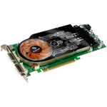 Leadtek WinFast PX9600 GSO Extreme - 384 Mo TV-Out/Dual DVI - PCI Express (NVIDIA GeForce 9600 GSO)
