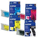 Brother pack de 4 cartouches LC1000 (Noir + Cyan + Magenta + Jaune)