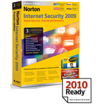 Norton Internet Security 2009 Premier - Licence 1 an 3 postes (français, WINDOWS) + Norton Ghost 12