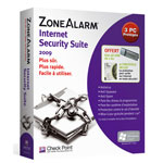 Avanquest ZoneAlarm Internet Security Suite 2009 - 1 an 3 postes (français, WINDOWS)