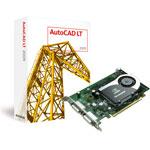 Autodesk AutoCAD LT 2009 + PNY Quadro FX 570