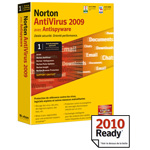 Norton Antivirus 2009 - Licence 1 an 1 poste (français, WINDOWS)