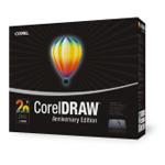Corel CorelDRAW Anniversary Edition - Mise à jour (français, WINDOWS)