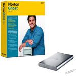 Iomega Prestige Portable Hard Drive 500 Go USB 2.0 + Norton Ghost 14 (français, WINDOWS)